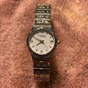 Caravelle by Bulova Ladies Watch Gold/SS band